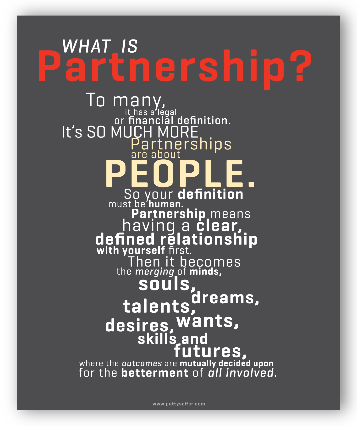 Partnership POSTER
