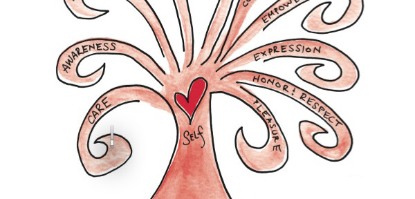 The Self-Love Tree by Christine Arylo. daretoliveyou.com